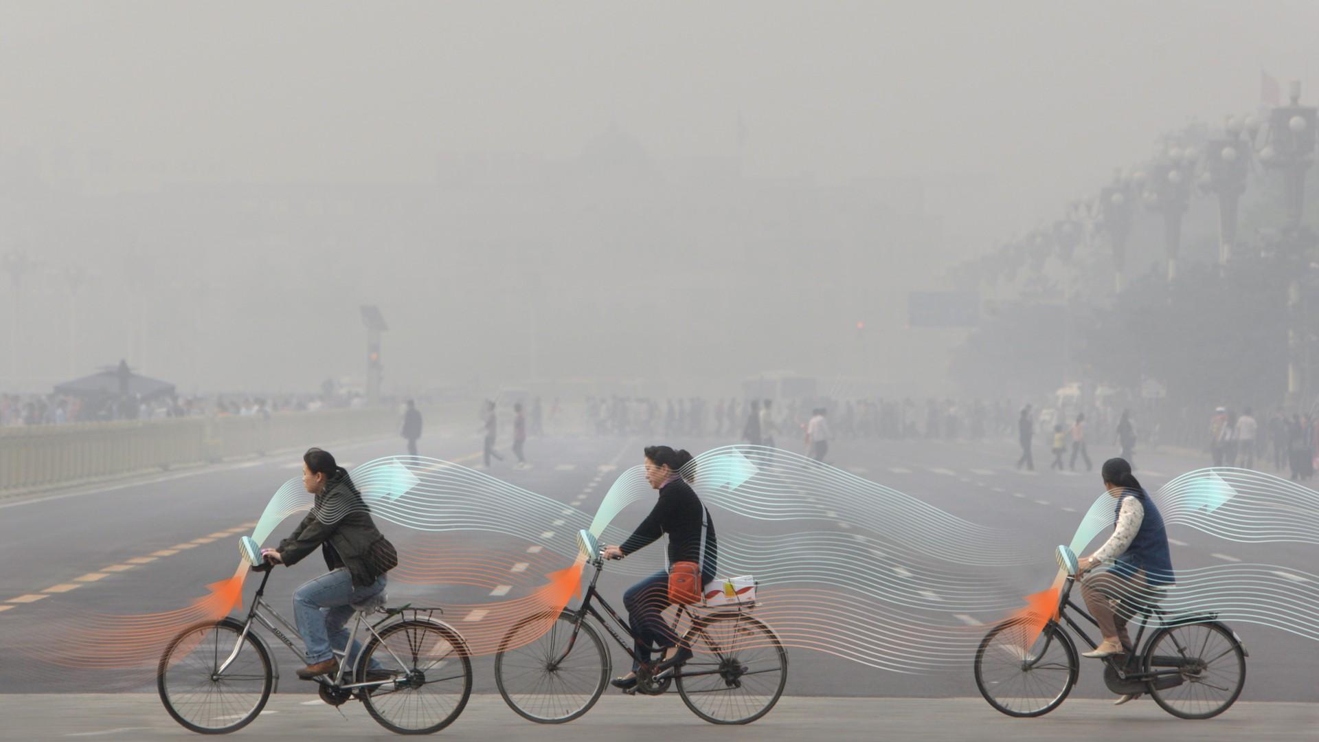Pédaler pour dépolluer les villes