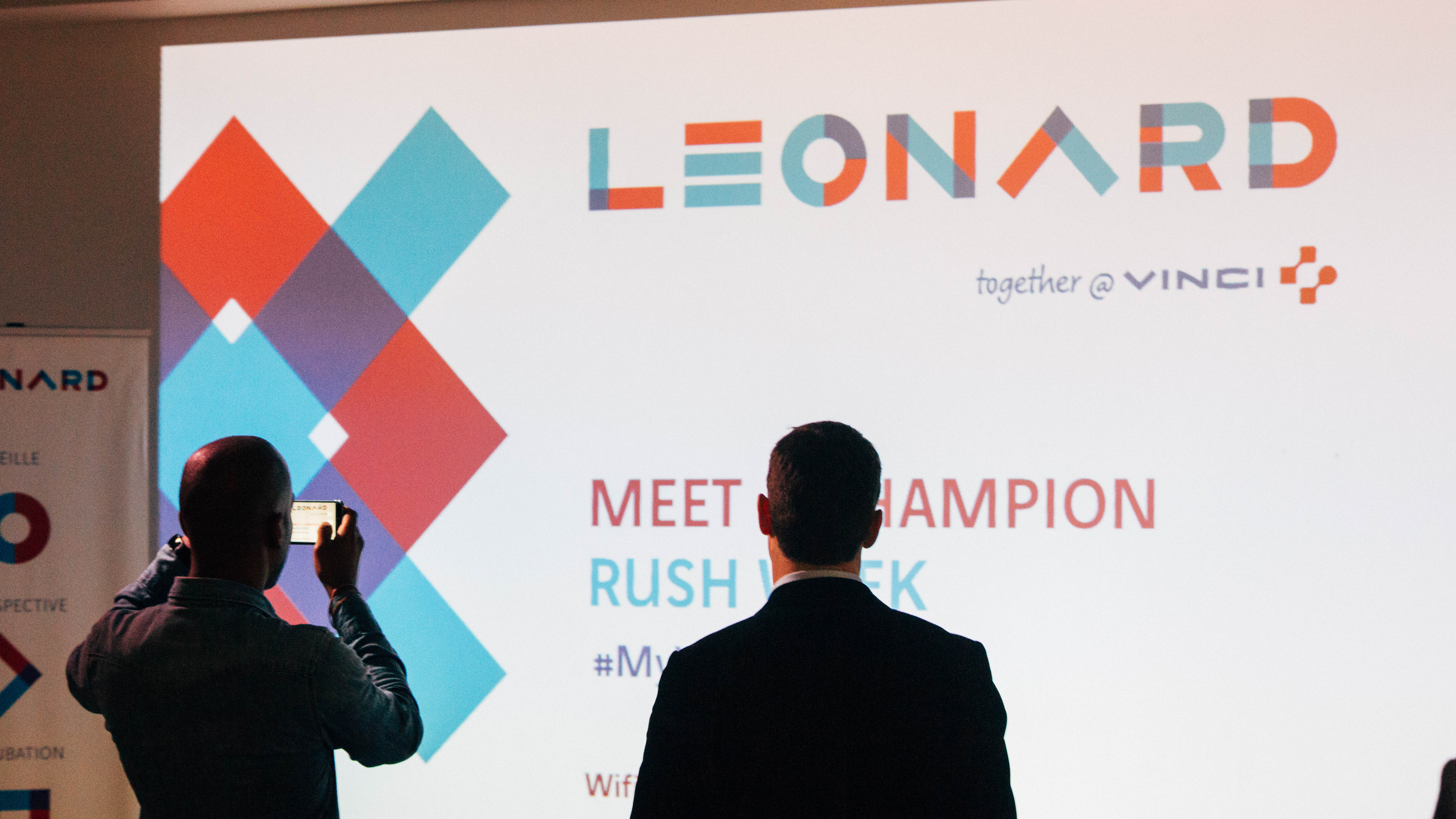 Parcours intrapreneurs Leonard - soirée Meet a champion