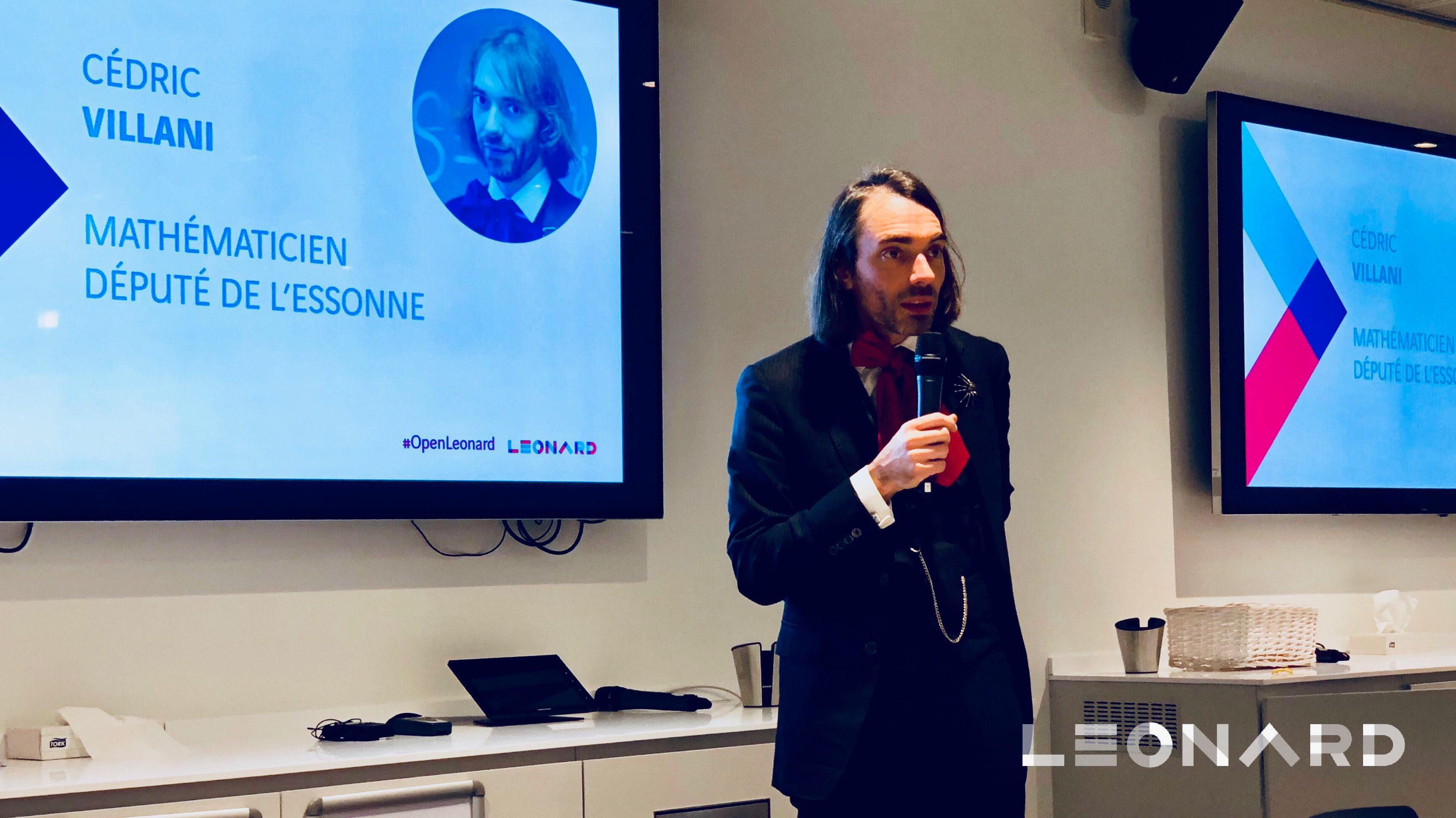 Cédric Villani - Event OpenLeonard IA