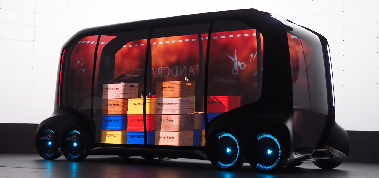 e-Palette Concept Vehicle - Toyota