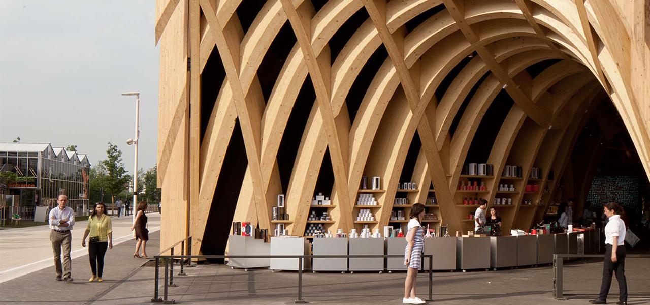 Pop up infrastructure : Exposition universelle de Milan, le Pavillon France