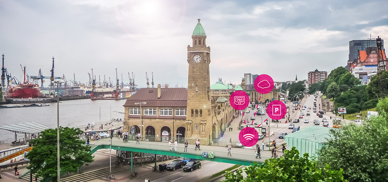 Les « telco » dans la ville : à Hambourg, les smart parkings sont une affaire de réseau
