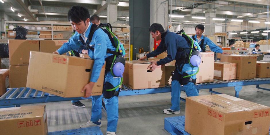 L'exosquelette, promesse d'un chantier plus sécurisé, plus productif et moins pénible