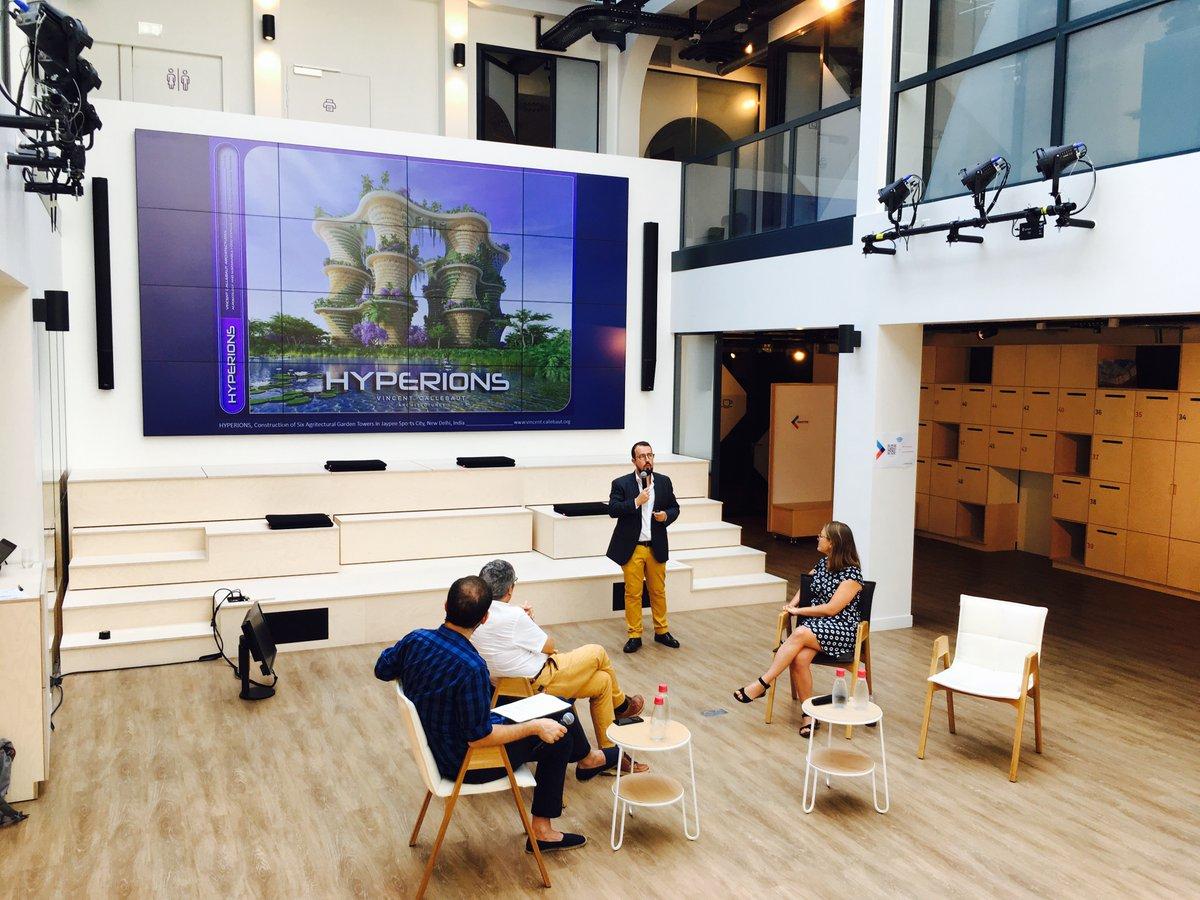 Projet Hyperions présenté par Vincent Callebaut - Penser la biodiversité comme une infrastructure urbaine