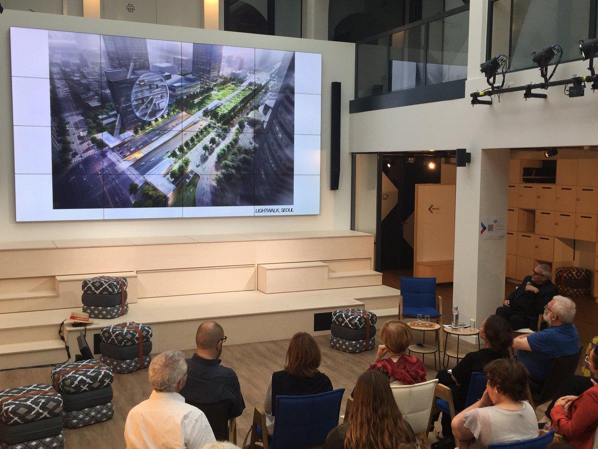 Projet Lightwalk (Séoul) présenté par Dominique Perrault