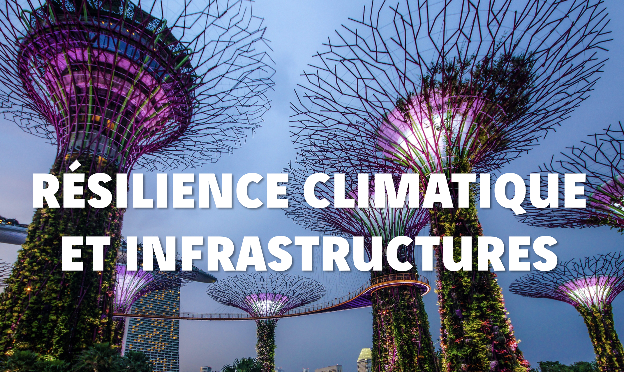 Penser et construire des infrastructures résilientes au risque climatique