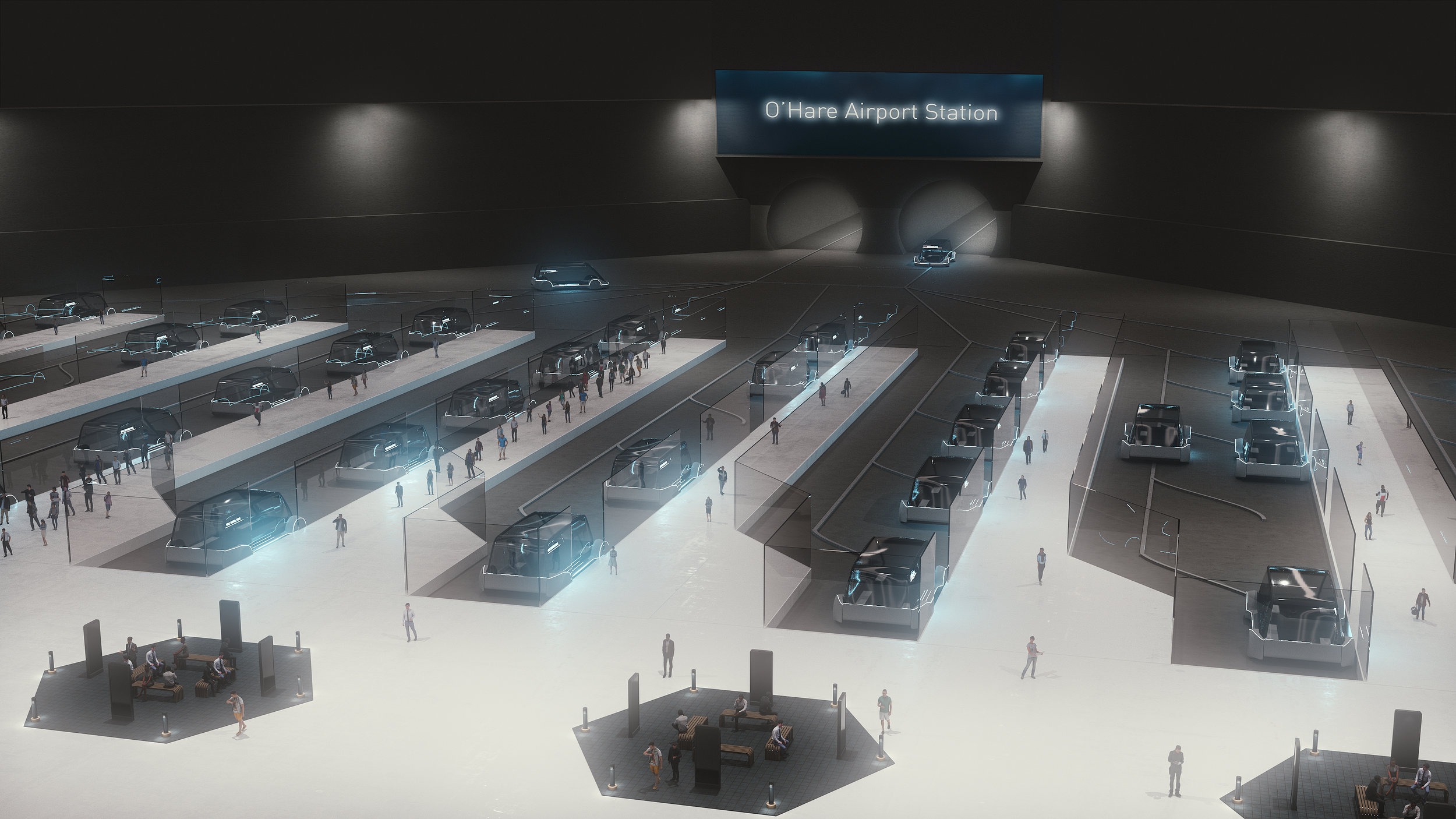Boring Company Chicago airport project