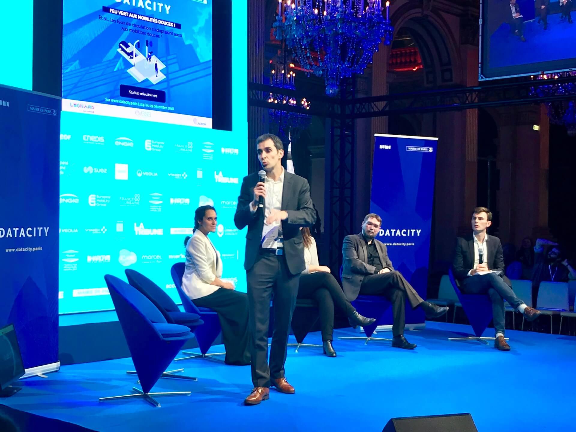 Leonard rises to three urban challenges with the DataCity Paris programme!
