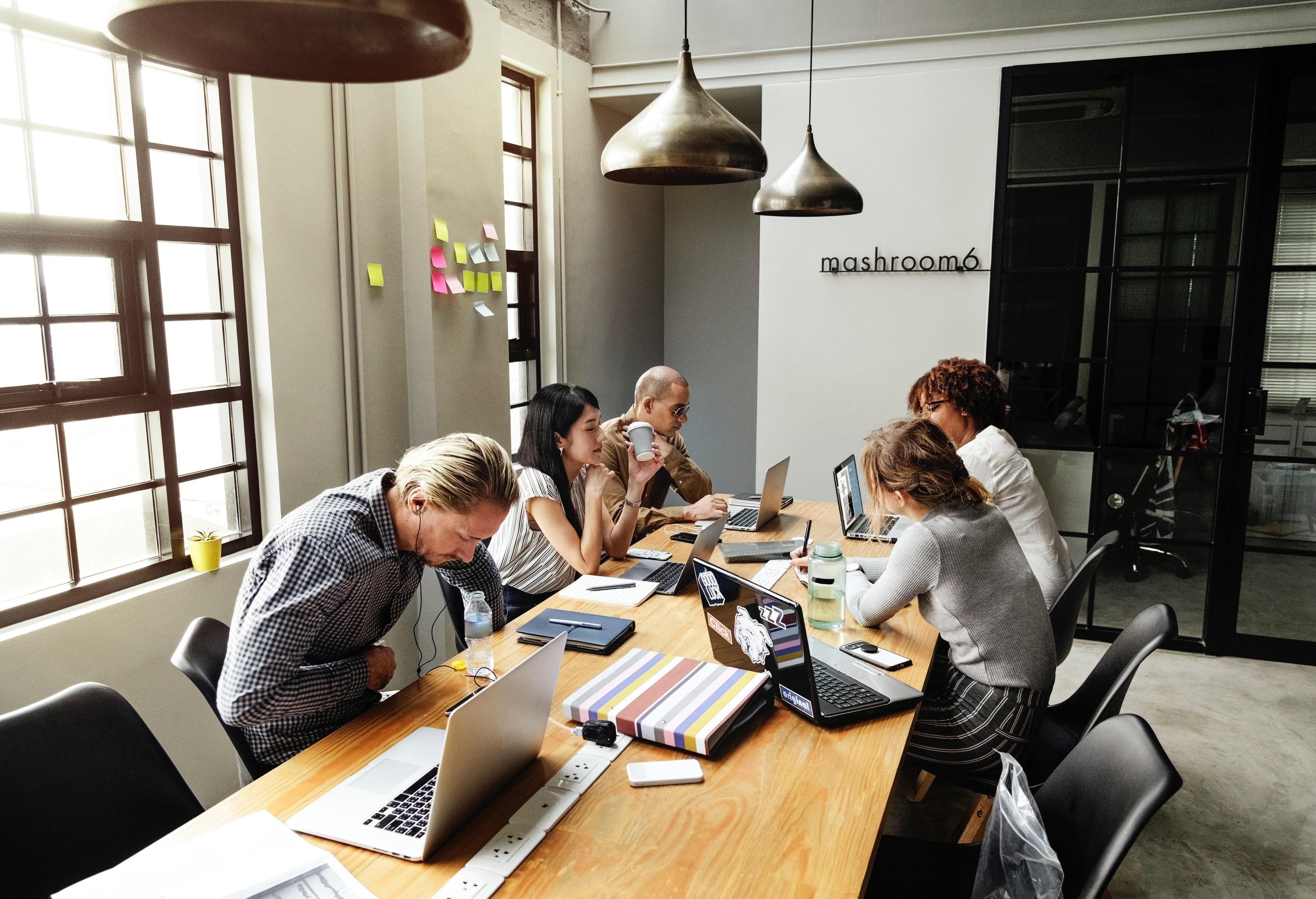 Par delà le coworking l immobilier de bureau en pleine mutation