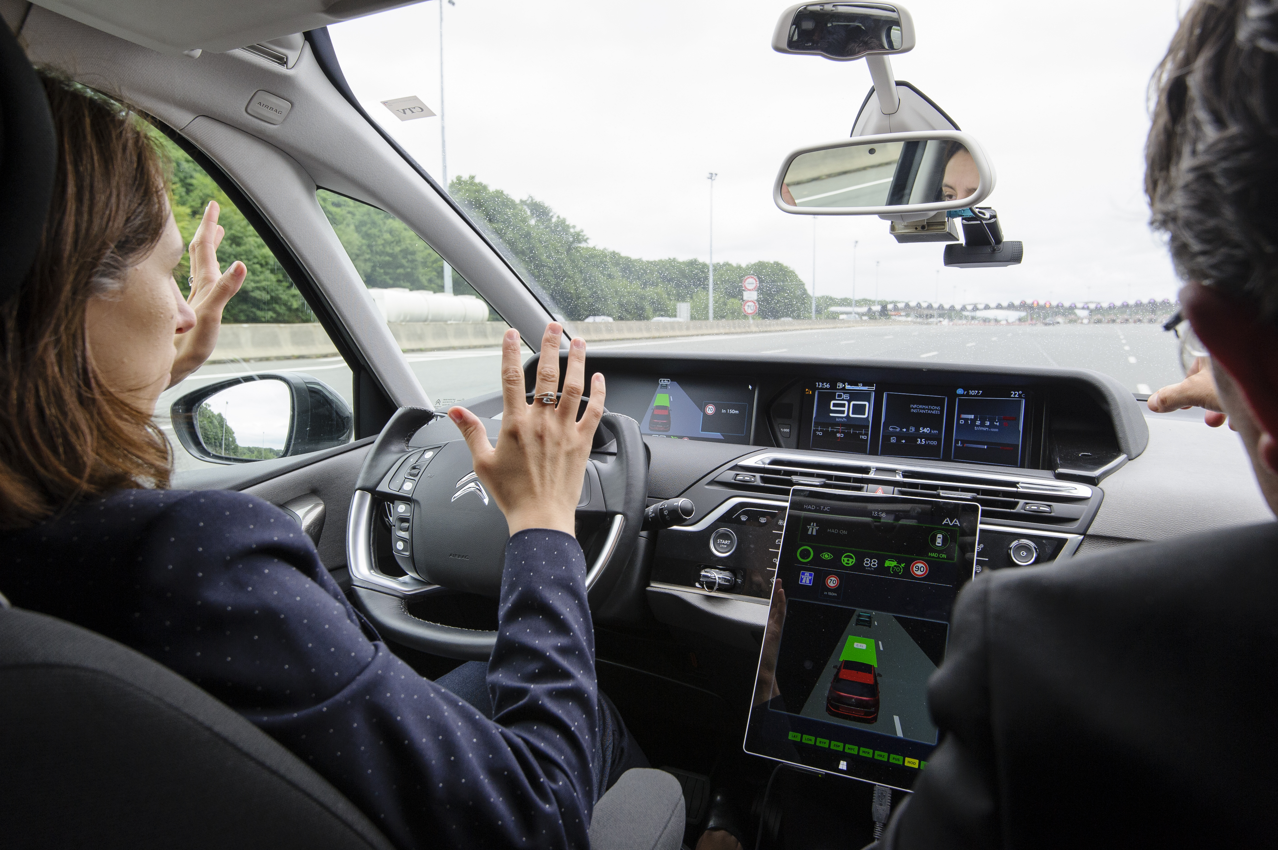 Road infrastructure provides a testing ground for autonomous vehicle rollout