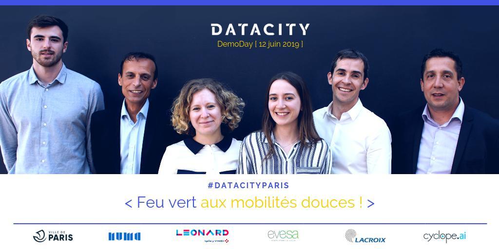 """Challenge """"Mobilité douce"""" - DataCity #4"""