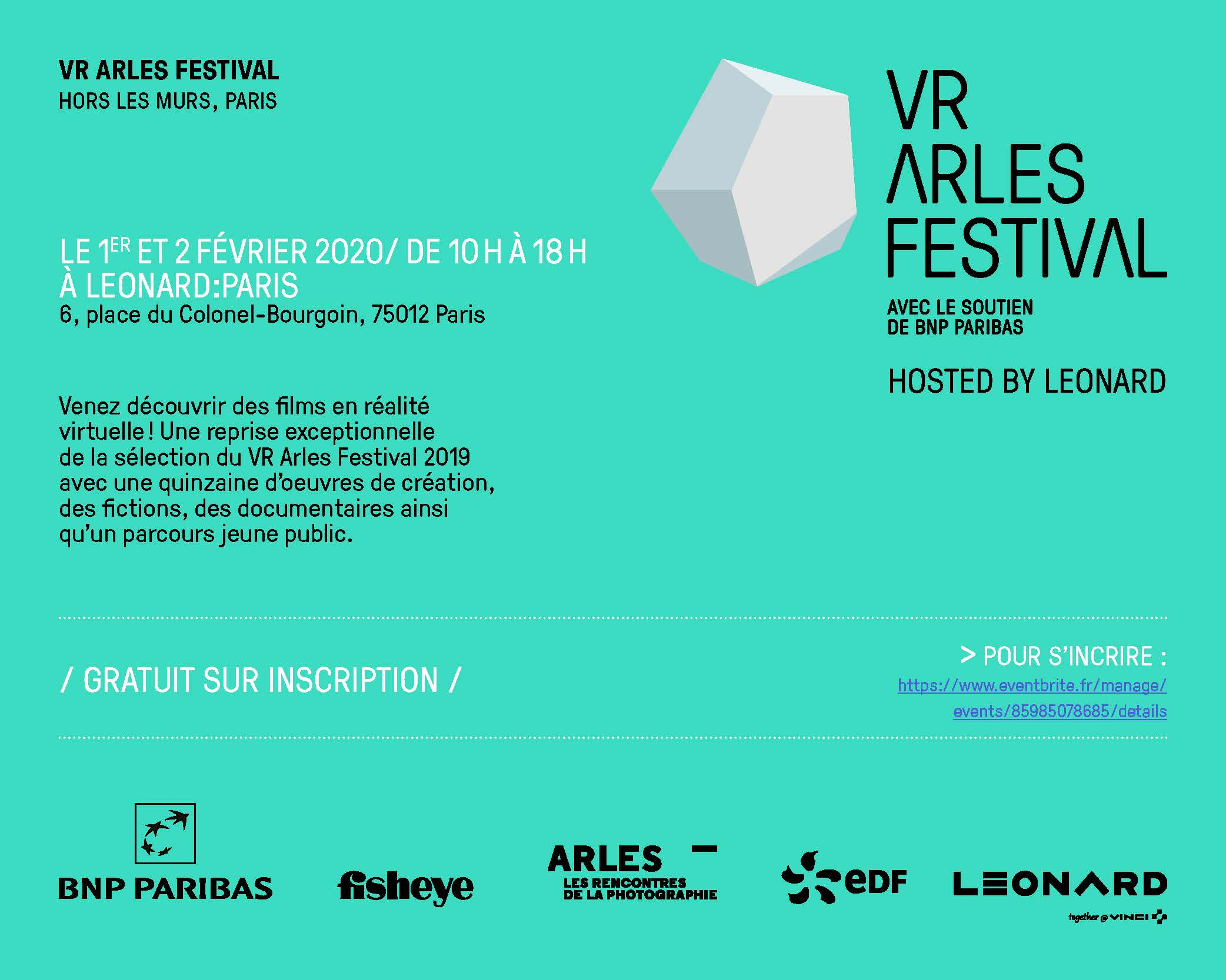 VR Arles Festival: discover the best in virtual reality with Leonard