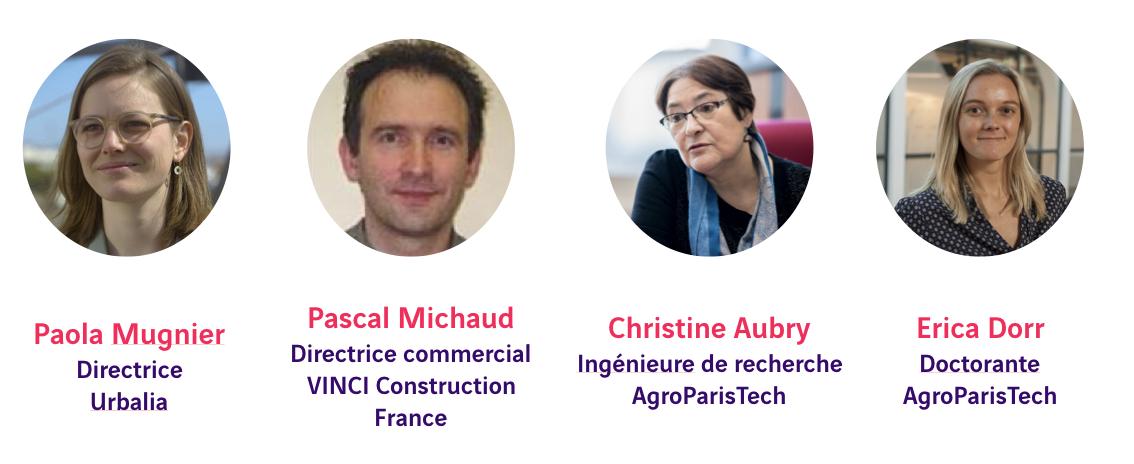 Paola Mugnier, Pascal Michaud, Christine Aubry et Erica Dorr - Building Beyond 2020