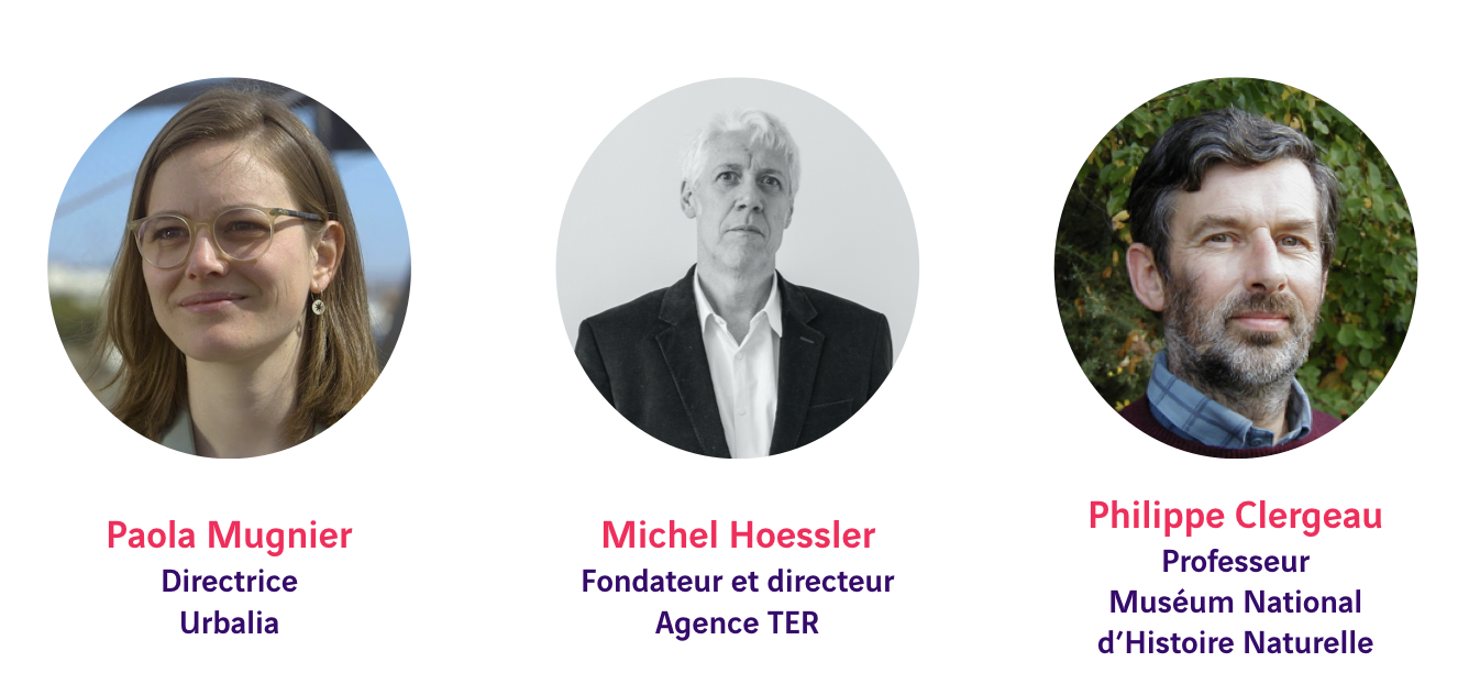Paola Mugnier, Michel Hoessler, Philippe Clergeau