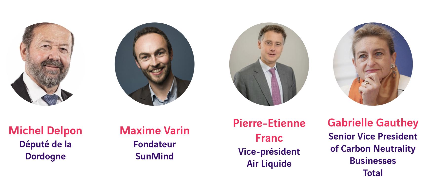 Michel Delpon, Maxime Varin, Pierre-Etienne Franc, Gabrielle Gauthey