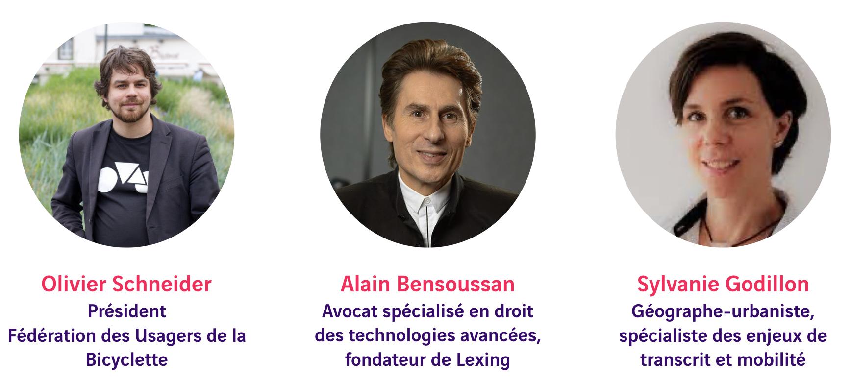 Olivier Schneider, Alain Bensoussan, Sylvanie Godillon