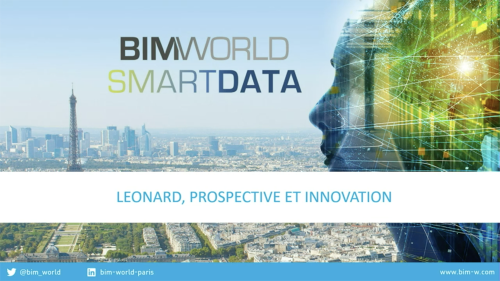 Leonard at BIM World: tech takes construction to the next level