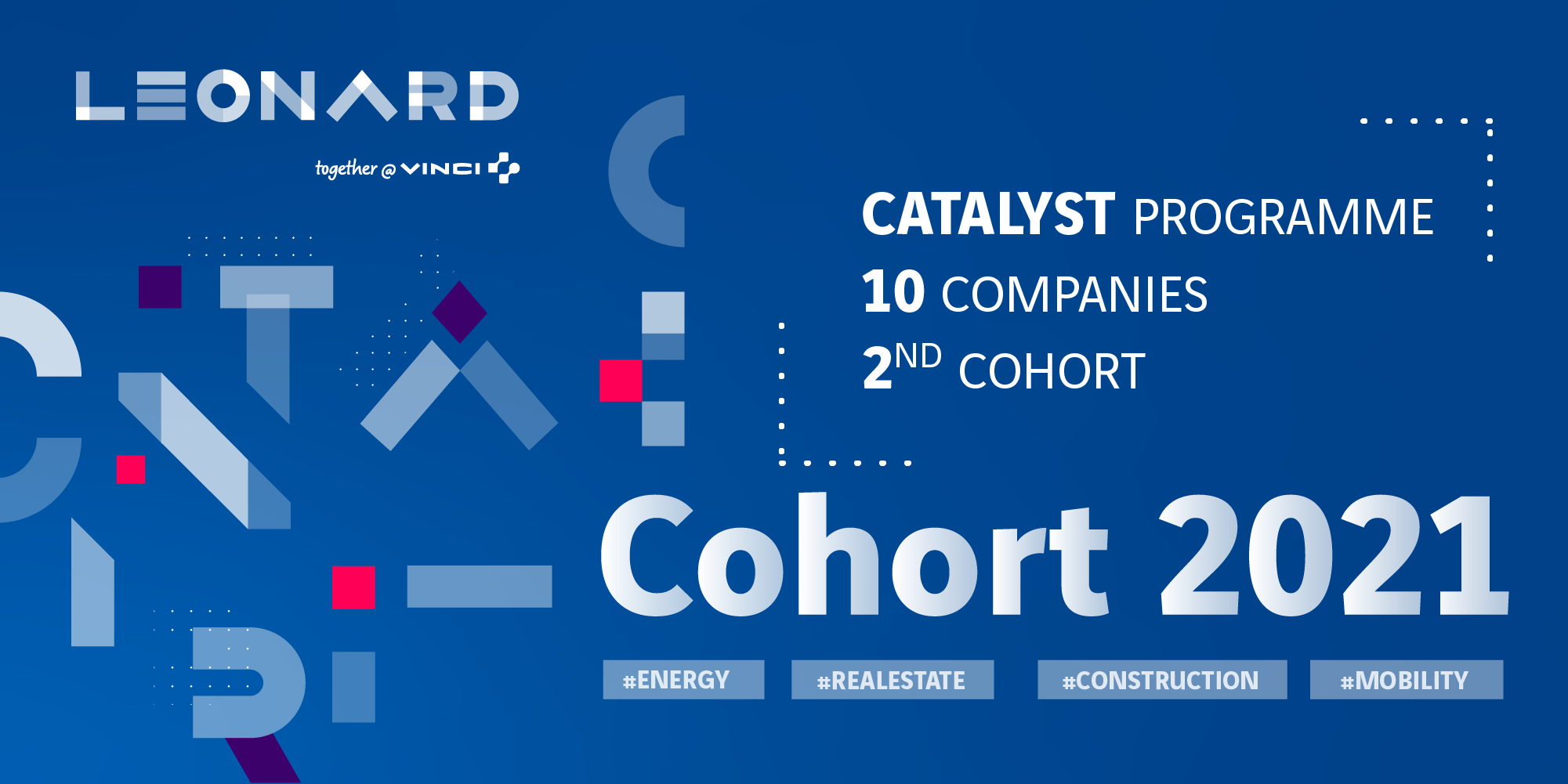 CATALYST: the 2nd cohort of Leonard's support program enrols 10 innovative companies