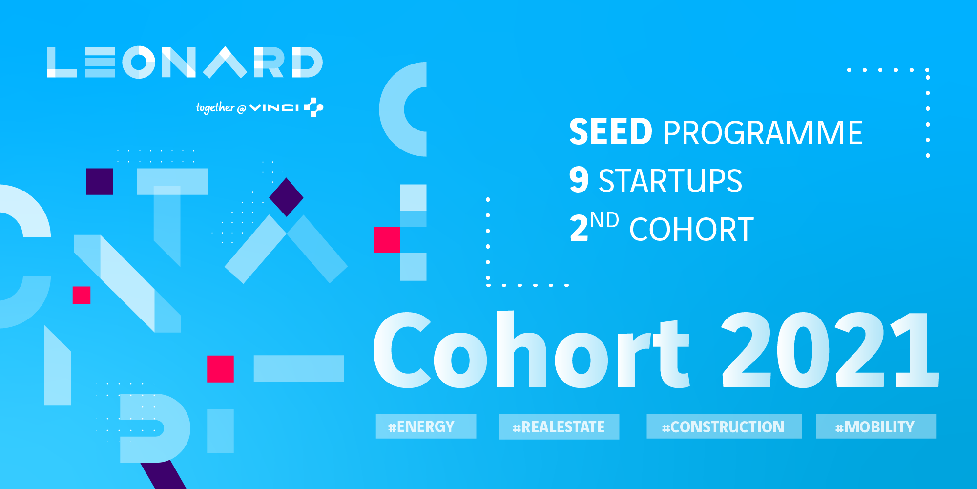 SEED: 7 start-ups join the 2nd cohort of Leonard's early stage acceleration program