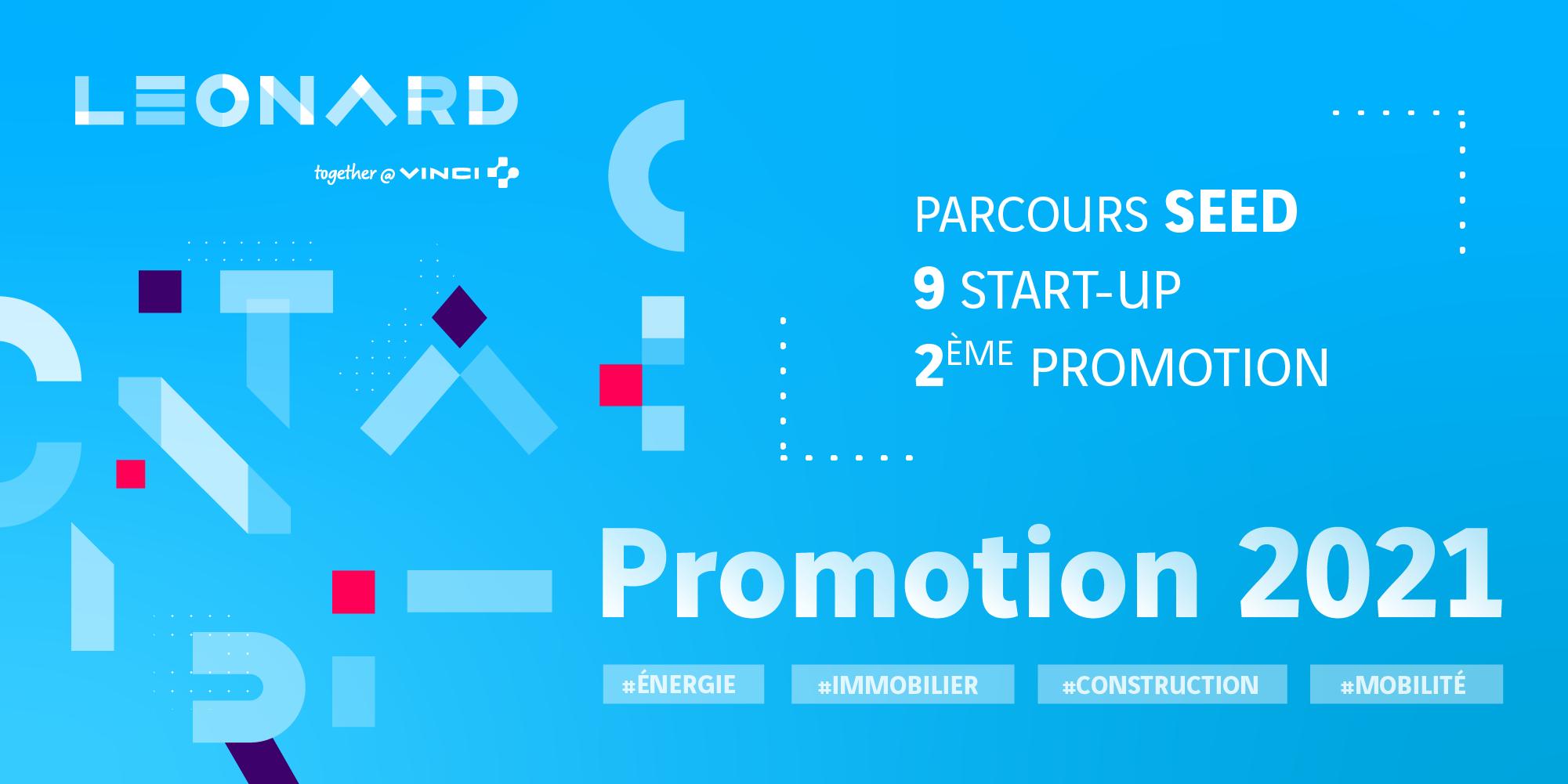 SEED : 9 start-up rejoignent la 2e promotion du programme d'accélération de Leonard