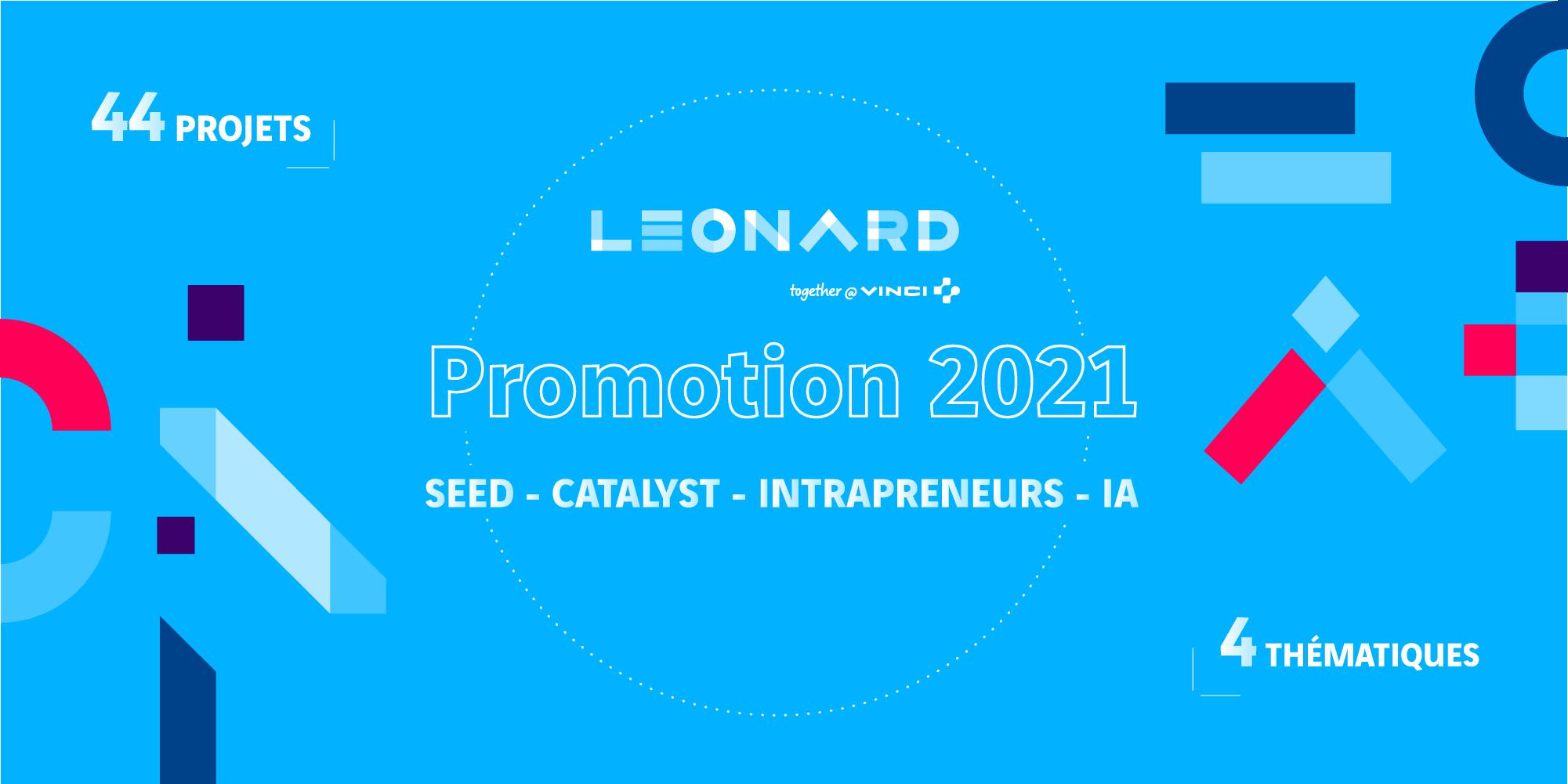 Les programmes d'accélération de Leonard  accueillent 44 nouveaux projets en 2021