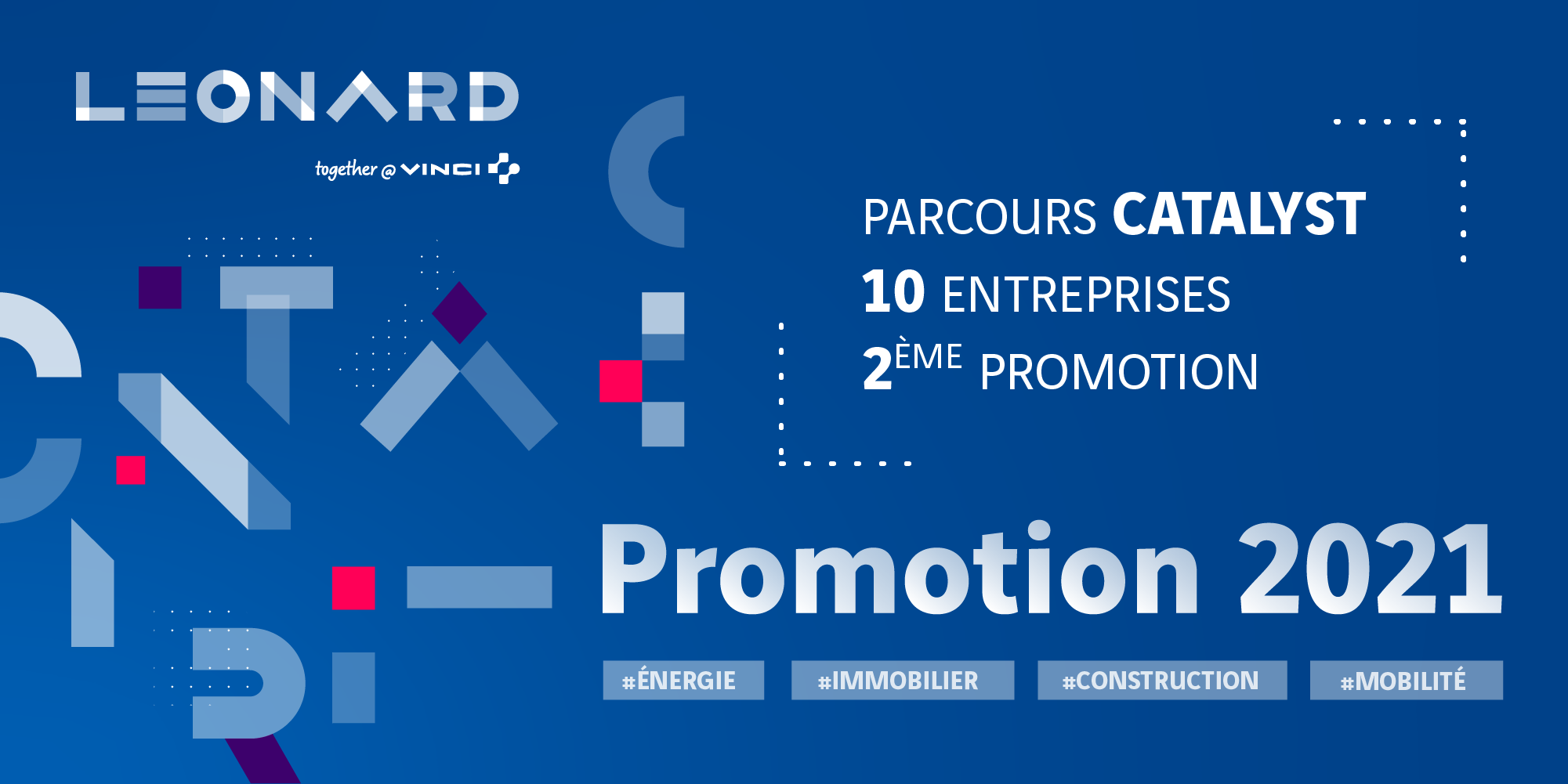 CATALYST : la 2e promotion du programme d'accompagnement de Leonard accueille 10 entreprises innovantes