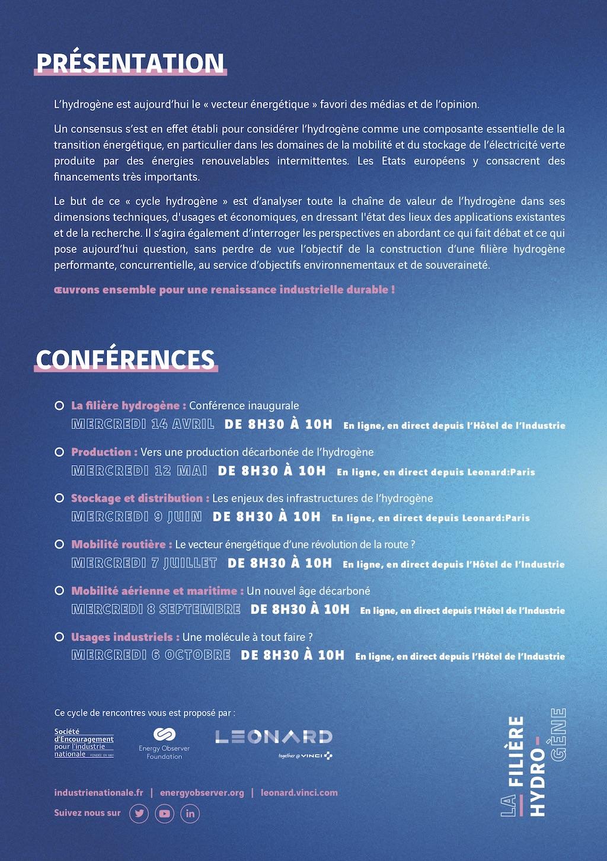Leonard Energy Observer Hydrogene conferences