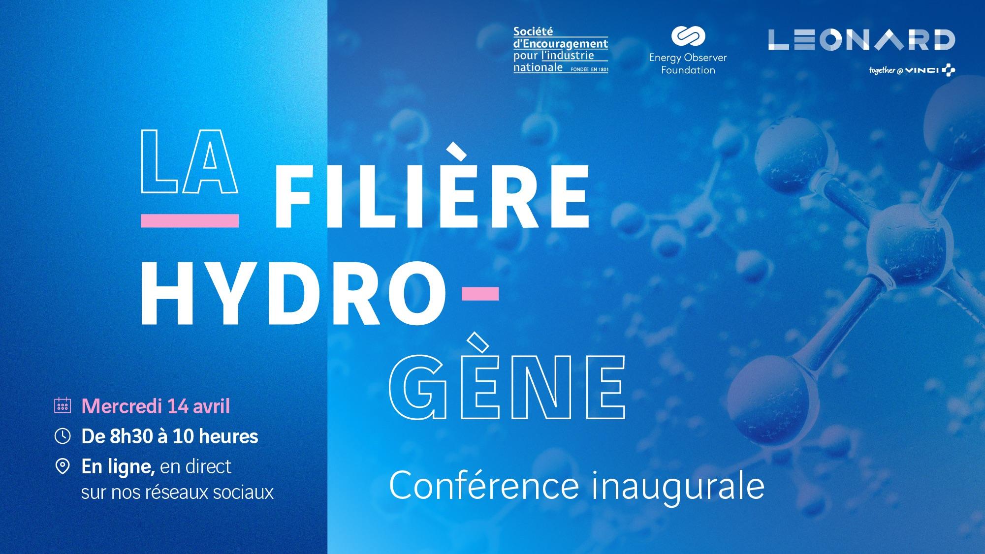 La filière hydrogène : acteur clé de la transition énergétique – Conférence inaugurale