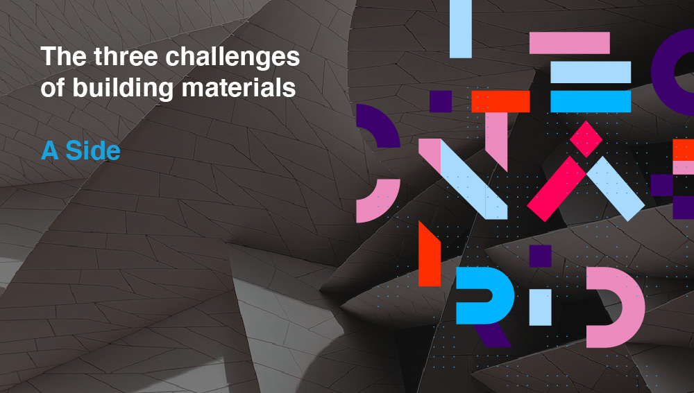 """The three challenges of building materials"" newsletter – March 2021"