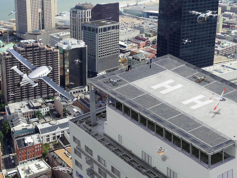 Les villes préparent l'arrivée des drones dans le ciel urbain
