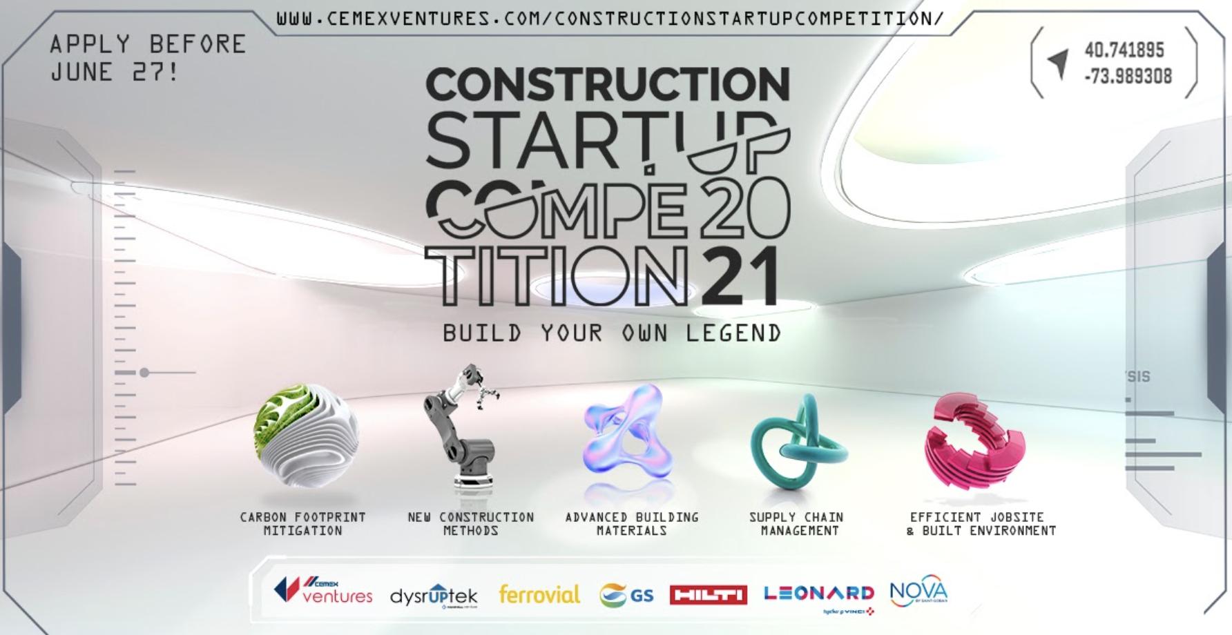 Leonard, partenaire de la Construction Startup Competition 2021