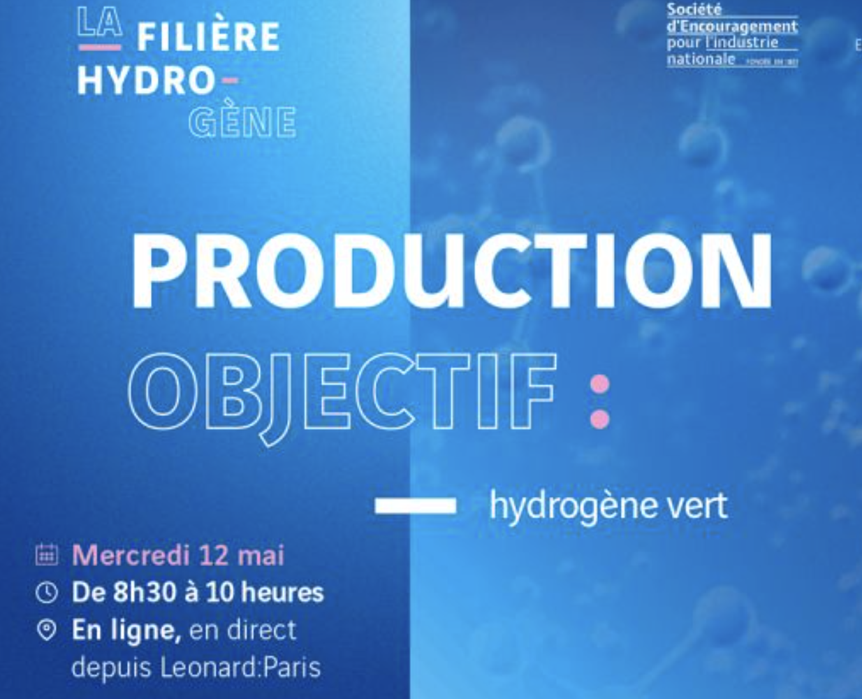 [Conference – Report] Towards a decarbonized production of hydrogen