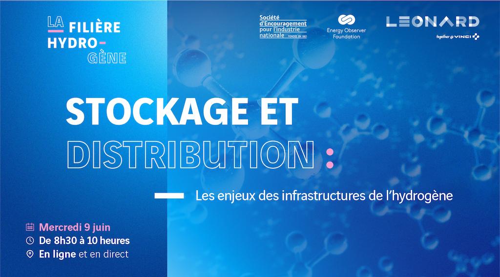[ Replay / Compte-Rendu ] Stockage et distribution : les enjeux des infrastructures de l'hydrogène