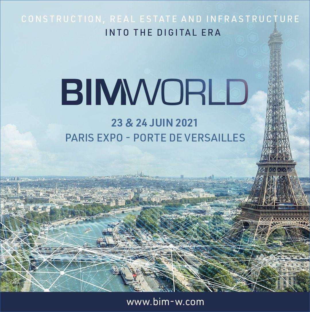 Meet us at BIM World Paris 2021!