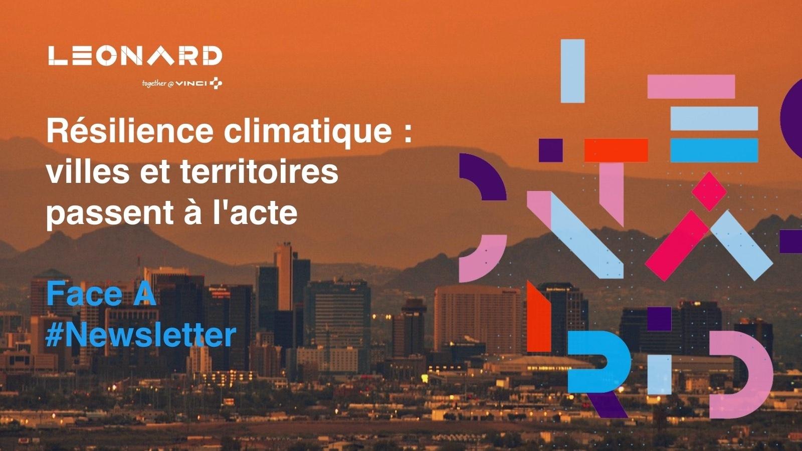 Newsletter «La résilience climatique : villes et territoires passent à l'acte»