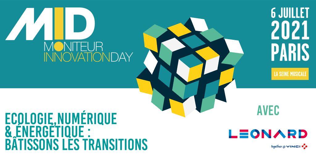 Leonard est à Moniteur Innovation Day