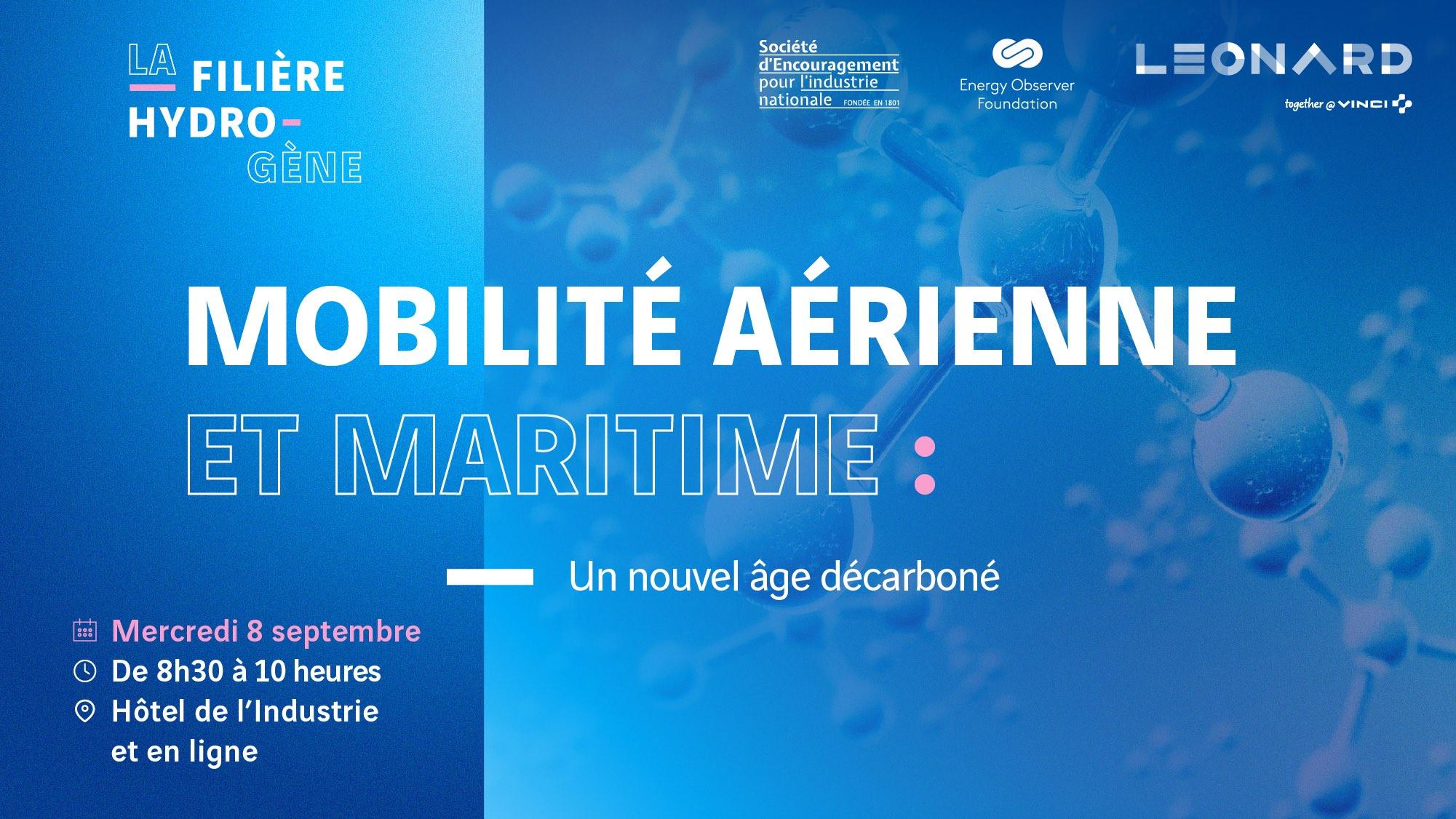 Mobilités aérienne et maritime : un nouvel âge décarboné