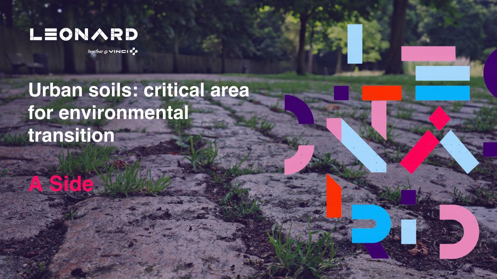 Newsletter «Urban soils: critical area for environmental transition» – October 2021
