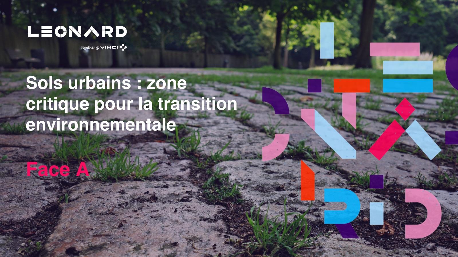 Newsletter « Sols urbains : zone critique pour la transition environnementale » – Octobre 2021
