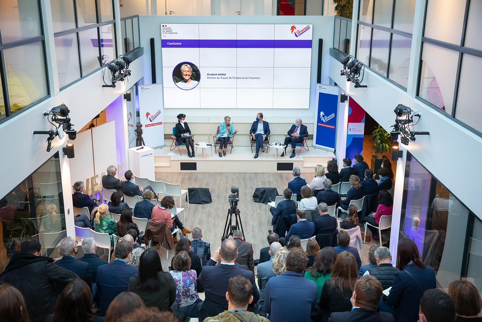 Les nouvelles ambitions de la communauté «Les entreprises s'engagent» à Leonard:Paris