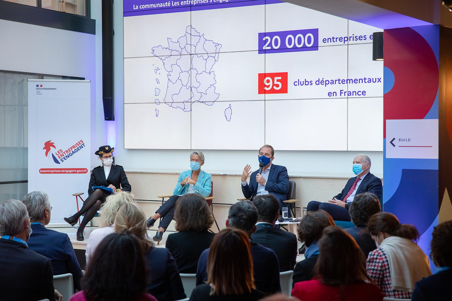 "The new ambitions of the ""Les entreprises s'engagent"" community at Leonard:Paris"
